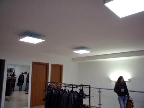 Plafoniera Incasso Led Disano : Projects u003e indoor stores disano illuminazione spa